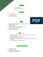 Syllabus for BBA(Hons.)Comprehensive Exam