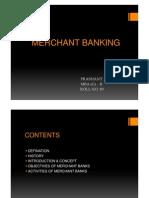 Merchant Banking