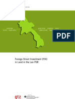 Foreign Direct Investment Lao[1]