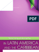 4. High –Level Regional Meeting on the Teaching of Philosophy in Latin American and the Caribbean