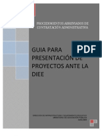 Guia de Presentacion de Proyectos Ante La Diee Revision) 26-01-2009