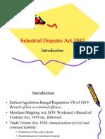 Industrial Disputes Act,1947