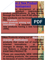 Chapter-2 New Product Development