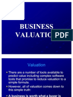 Valuing Business EDP SDM