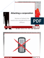 INFOSEK2010 Presentation Attacking a Corporation