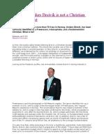 Andreas Breivik`s Mental Background