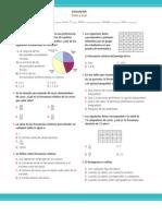 7° año Evaluación Datos y azar