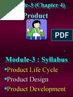 Module-03 - Product- Process & Service Design
