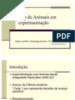 Uso de Animais em experimentação