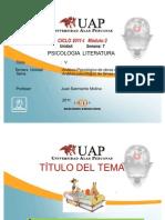 PSICOLOGIA Y LITERATURA 7
