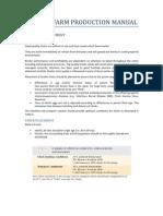 Broiler Farm Production Manual