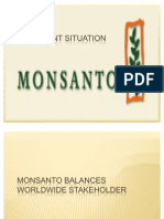 monsanto attempts to balance stakeholder interests