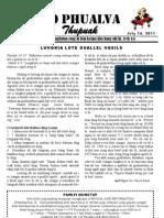 Zo Phualva Thupuak- Volume 01, Issue 08