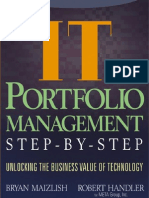 IT Portfolio Management - Unlocking the Business Value of Technology