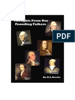 Thoughts From Our Founding Fathers