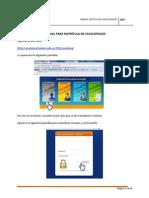 42 Manual Para Matricula de Vacacionales-2011
