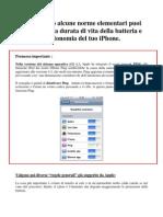 Consigli Autonomia Batteria iPhone