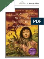 Wilkinson Carole - El Guardian de Los Dragones 02 - El Jardin Del Dragon Purpura