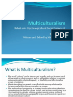 Multicultural Counseling Applied to Vocational Rehabilitation