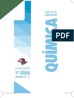 2009 Volume 3 CADERNODOPROFESSOR QUIMICA EnsinoMedio 1aserie Caderno Do Professor
