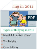 Bullying in 2011