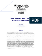 Qnx - Real Time or Real Linux