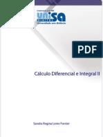 Apostila Cálculo Diferencial e Integral II
