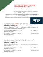 03-Esempi Di Costi Iscrizione to 2011 12