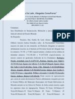 Demanda Laboral - Caleteros-Reconocimiento relación laboral-pago prestaciones