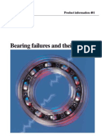 Bearing failures and their causes. Fallas en Rodamientos y Sus Causas SKF (en Inglés)