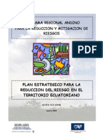 Plan Estrategico Reduccion Riesgo