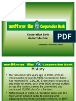 Corporation Bank_ an Introduction