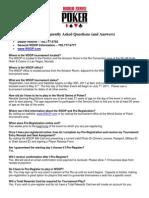 WSOP-2011-FAQ