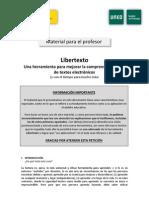 lLIBERTEXTO. Material Para El Profesor Libertexto
