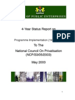 05 - Implementation of the Privatisation Programme 1998-2003
