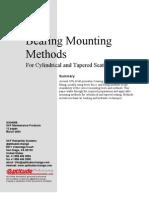 Bearing mounting methods. Métodos de montaje de rodamientos SKF