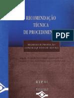 Recomendação Técnica de Procedimento n 01