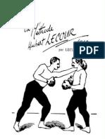 44990734 French Boxing La Methode Huber Lecour Par Leclerc Aine 1910 UKR