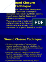 Wound Closure Technique
