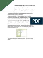 Como Crear Un Archivo de Excel Sin Intalar Excel