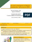 Introducción a SPSS (Estadística para Educación)