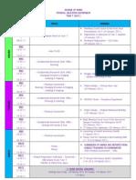SM Tanjong Maya Tutong - P.E. Year 7 (SPN21) 2011 - Scheme of Work