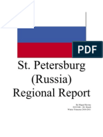 Peters Burg Russia Regional Report