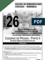 Cespe 2008 Hemobras Especialista Em Producao de Hemoderivados Farmacia Prova[1]