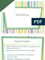 8. Linggwistika - Ponolohiya
