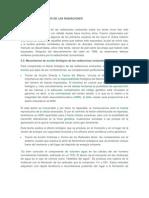 EFECTOS BIOLÓGICOS DE LAS RADIACIONES