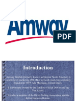Marketing Strategies of Amway
