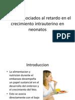 Factores Asociados Al Retardo en El Crecimiento Intrauterino