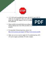 Soyo P4I 845PE ISA Motherboard Manual