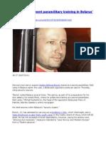 Anders Breivik - KGB Codename
